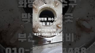 부산북구 화명동 하수구 막힘 뚫는 곳/성심설비 010-…