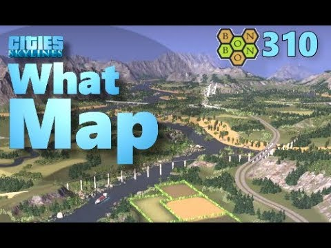 Cities Skylines - What Map - Map Review 310 - Cantil Rapids