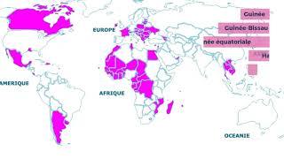 Le monde de la Francophonie (1970-2020)