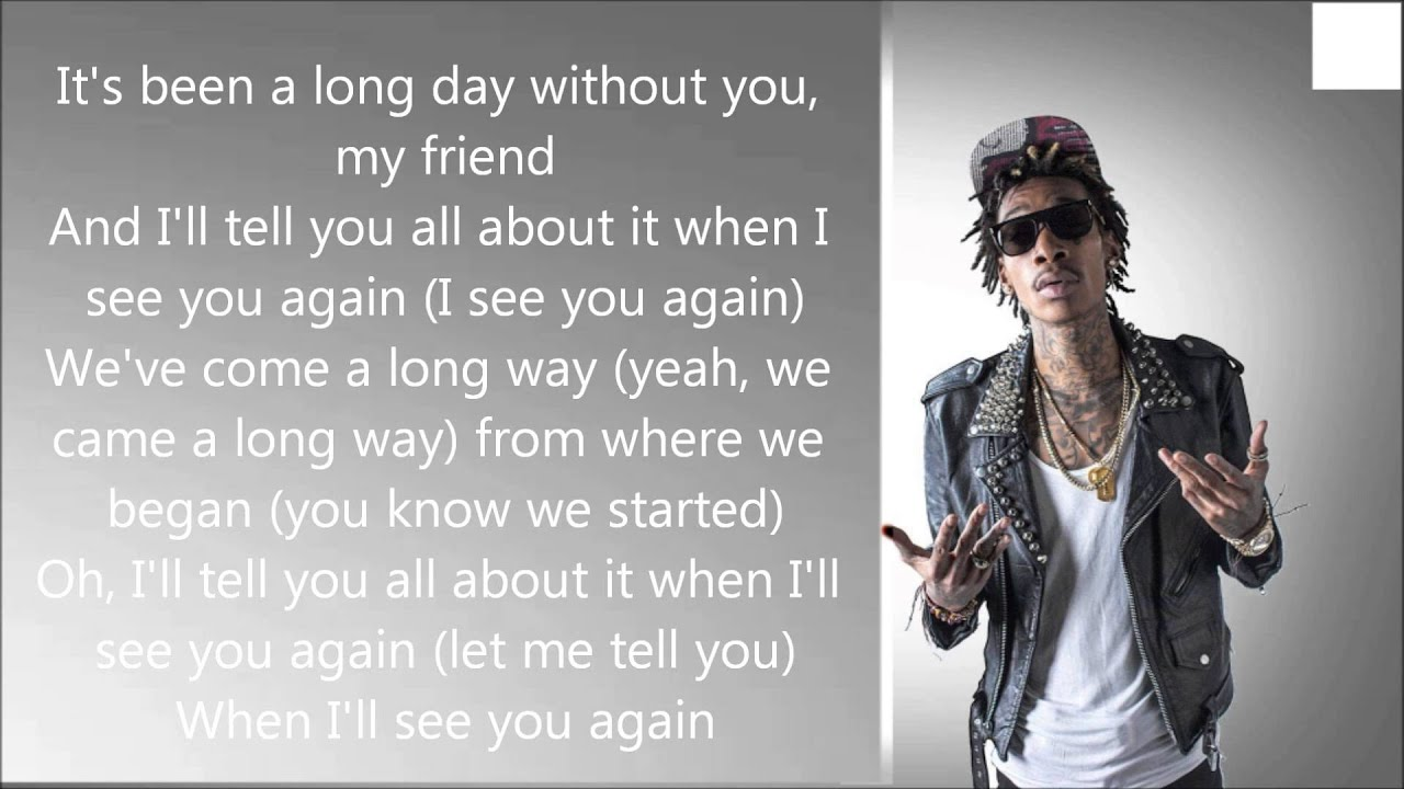 wiz khalifa ft charlie puth lyrics youtube