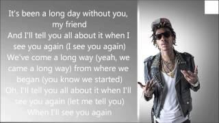Wiz Khalifa ft Charlie Puth - See You again (Lyrics) Mp3