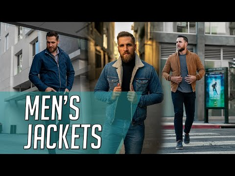 9 Jackets ALL Men Should Own || Men's Coats 2020