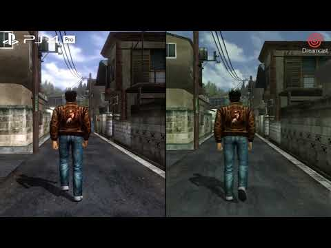 Shenmue I & II - Home Theater Test Xbox One X