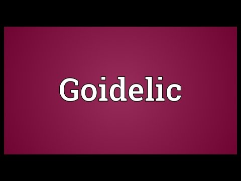 Goidelic Meaning
