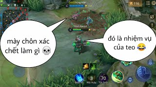 Troll Game _ Baldum Dùng Ulti Ch.ôn X.ác Team Và Cái Kết | Yo Game