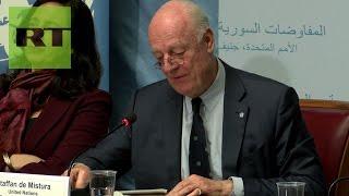 Arranca la segunda jornada de las consultas sobre Siria en Ginebra