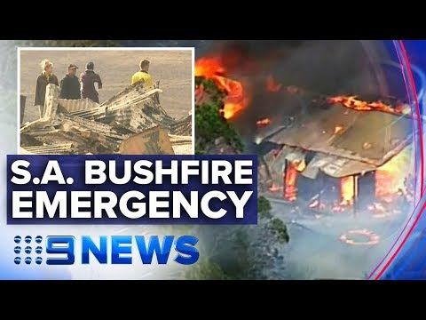 One Dead, 54 Injured In South Australian Bushfires | Nine News Australia