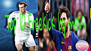 Top 10 Free Kick of Messi   Dream League Soccer 2018   Android and iOS Game play