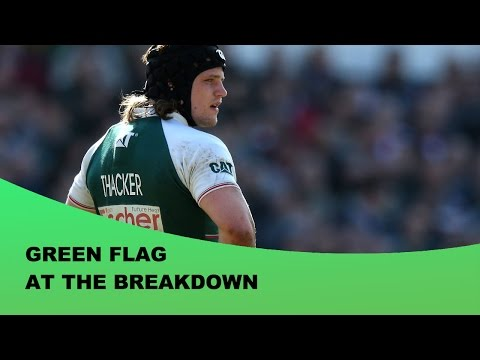 Green Flag At The Breakdown - Forward of the Month – April 2016