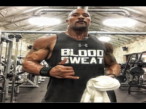 "Dwayne""The Rock"" Johnson Workout 2017"
