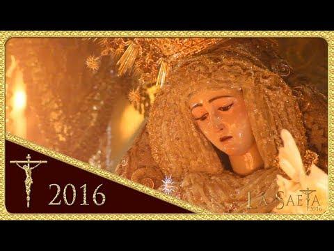 Santísima Virgen del Rosario - Plaza de la Encarnación - Monte-Sión (Semana Santa Sevilla 2016)