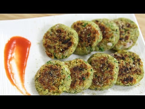 Moong Dal Tikki Recipe | Green Gram Patty | Indian Snacks Recipe | Snacks Recipes | Ruchi Bharani