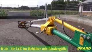 Gelenk und Doppelgelenkmixer BRAND Rühr- und Pumptechnik (2015/2016)