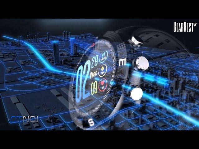 NO 1 F18 GPS Sports Smartwatch