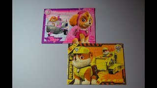 How to make Paw Patrol puzzle, как собрать пазл Щенячий Патруль , come fare un puzzle Paw Patrol