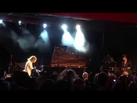 Toshi & Yoshiki of X Japan performing at Hyper Japan London 2015