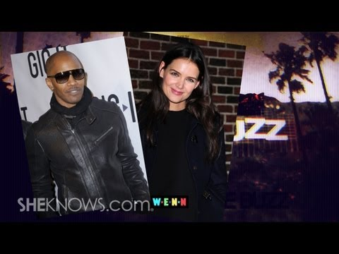 Katie Holmes and Jamie Foxx... a Couple?! - The Buzz