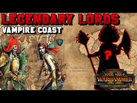 Vampire Coast Legendary Lords (Aranessa Saltspite, Count Noctilus) Who is #4?!