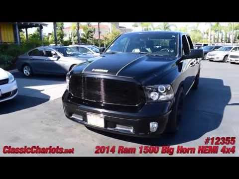 Used Custom 2014 Ram 1500 Big Horn HEMI 4x4 For Sale in Vista at Classic Chariots - #12355