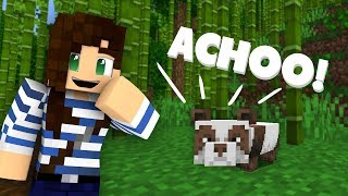 Finding Pandas In Minecraft For The First Time! (+ Giveaway!)