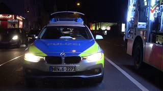 Nach schwerem Verkehrsunfall PKW-Dach entfernt für patientengerechte Rettung – Feuerwehr Hagen