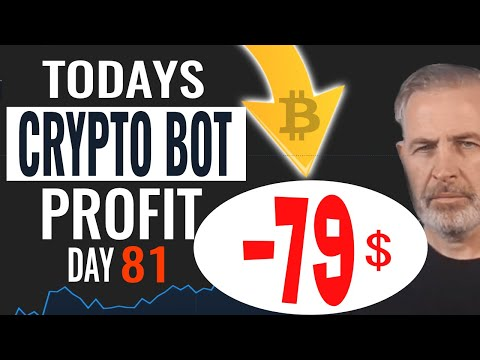 Day 81 Bitcoin Trading Bot Results