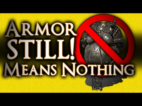 DARK SOULS 3 - WHY ARMOR STILL MEANS NOTHING (almost) AND HOW VITALITY AND VIGOR WORK