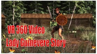 VR 360 Video Lady Guinevere Feature by Space 3D