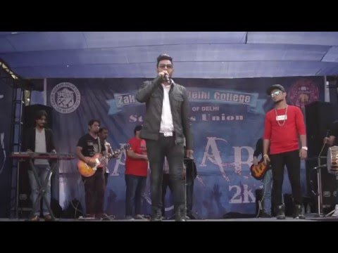 Azaan sahab Live at zakir hussain college (any querie 9999003064 )