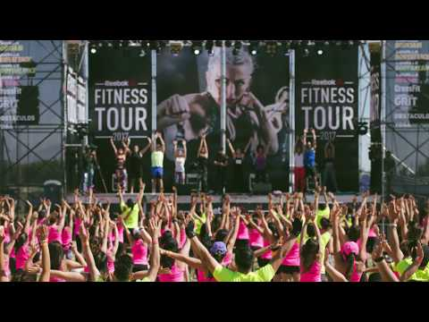 Reebok Fitness Tour llevó su festival deportivo al  Club Hípico de Santiago