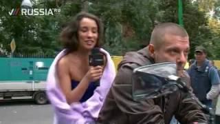 """сюжет о съемках клипа """"Клякса"""""""