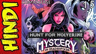 Hunt For Wolverine - 15    Mystery In Madripoor   Marvel Comics Explained in Hindi   #ComicVerse streaming