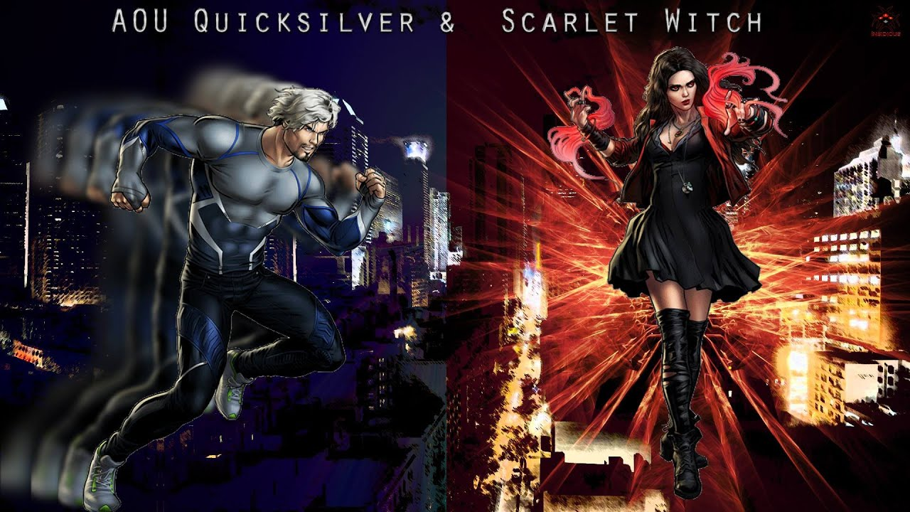 marvel avengers alliance quicksilver and scarlet witch