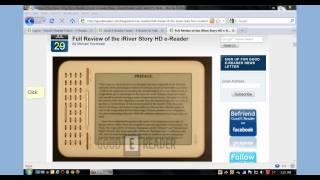 iRiver Story HD eBook Loading Tutorial
