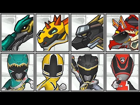 Dino Robot Corps + Power Ranger Dash - Full Game Play - 1080 HD