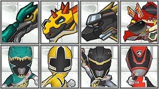 vuclip Dino Robot Corps + Power Ranger Dash - Full Game Play - 1080 HD