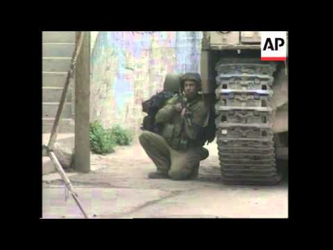 Clashes As Israeli Troops Raid West Bank City