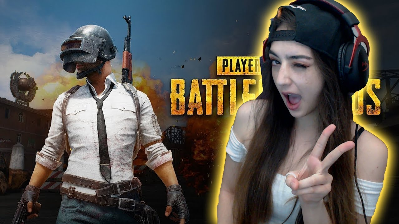 Pubg Wallpaper Woman: PUBG Female Player With Hat And Headphone PlayerUnknown39s
