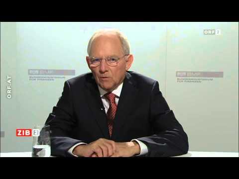 Wolfgang Schäuble im Interview 2015 03 12