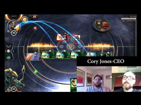 Interview With Cory Jones-CEO Cryptozoic Games On HEX TCGMMO