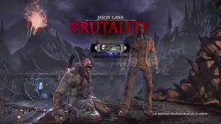 Mortal Kombat XL Jason VS Goro (Very Hard)