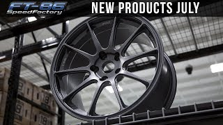 New Products July 2018 - FT86SpeedFactory