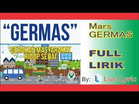 Mars GERMAS Gerakan Masyarakat Sehat Full Lirik