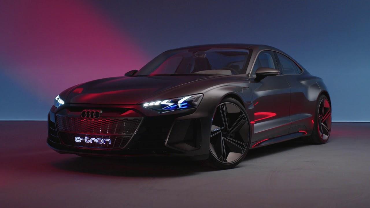 Audi e-tron GT concept - YouTube