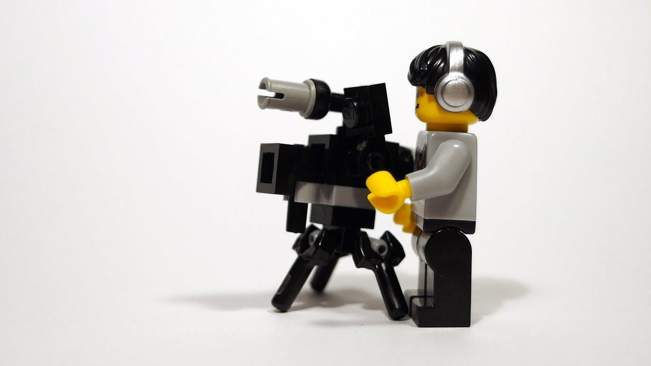 Lego Camera Building Instruction Lets Build Youtube