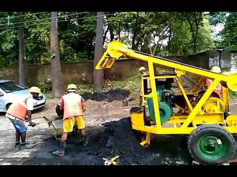 Sewer Cleaning Power Bucket Machine Truck Loader.Mfg.Kota Environ Pvt