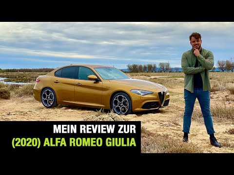 "2020 Alfa Romeo Giulia ""Veloce"" (280 PS) 🇮🇹 Fahrbericht 