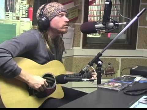 Kris Lager acoustic snippet on Alive in Lincoln, KZUM 89.3 FM Lincoln, NE