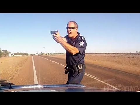 This Aussie Cop Has No Chill