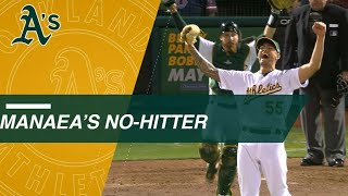 Manaea completes the no-hitter vs. the Red Sox